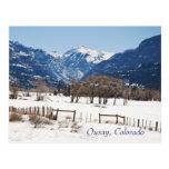 Ouray, Colorado in Winter Postcards