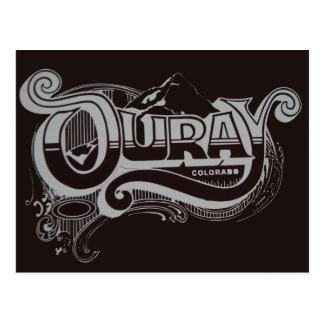 ouray colorado postcard