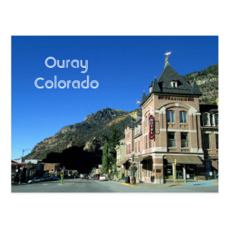 Ouray, Colorado Postcard