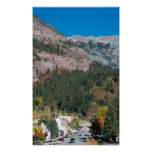 Ouray in Early Autumn Posters