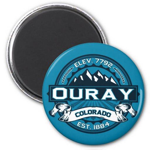 Ouray Logo Magnet