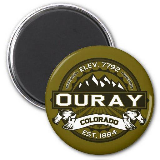 Ouray Logo Magnet Fridge Magnets
