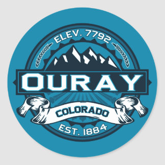 Ouray Logo Stickers