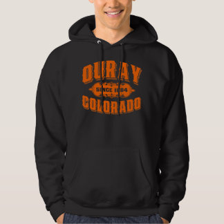 Ouray Old Style Orange Hoodie