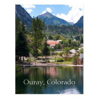 Ouray, postal del viaje de Colorado