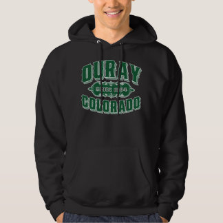 Ouray Since 1884 Green For Dark Hoodie