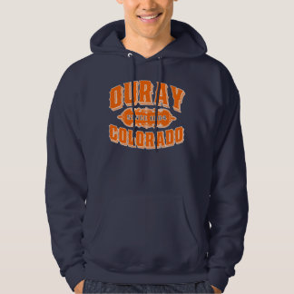 Ouray Since 1884 Orange For Dark Hoodie