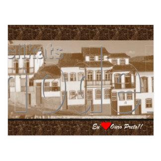 Ouro Preto MG Postcard