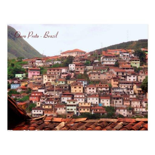 Adesivo De Estrogenio E Progesterona ~ Ouro Preto, Minas Gerais, Brazil Postcard Zazzle
