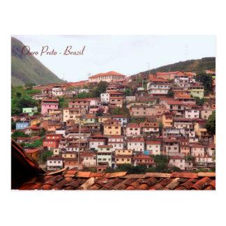 Ouro Preto, Minas Gerais, el Brasil Postales