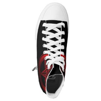 Ouroboros Baphomet Sneakers