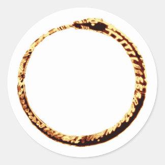 Ouroboros Classic Round Sticker