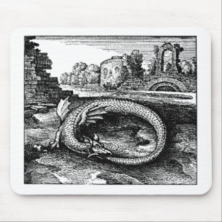 Ouroboros Dragon Gifts - Mouse Pad