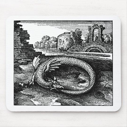 Ouroboros Dragon Gifts - Mouse Pad