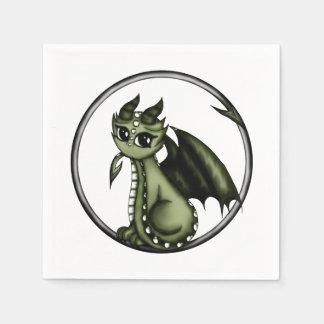 Ouroboros Dragon Paper Napkin