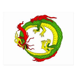 Ouroboros Dragon Postcard