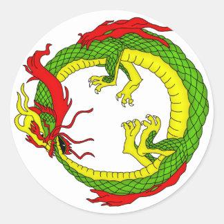 Ouroboros Dragon Sticker