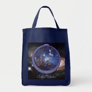 Ouroboros Galaxy - Grocery Tote #1 bag