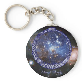 Ouroboros Galaxy - Keychain keychain