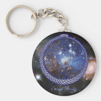Ouroboros Galaxy - Keychain