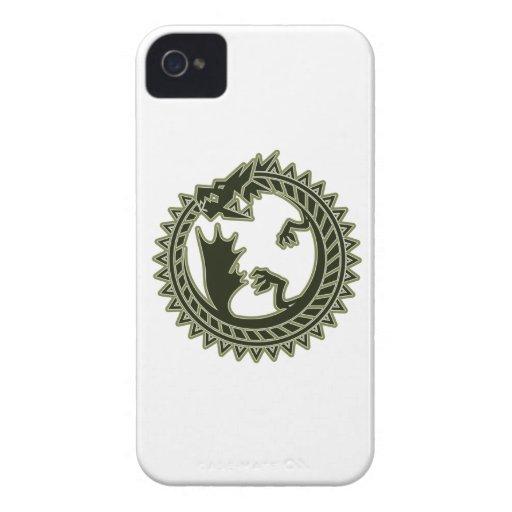 Ouroboros iPhone 4 Case-Mate Carcasa