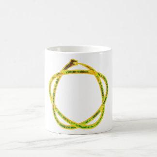 Ouroboros pentagram mugs