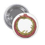 ouroboros pinback button