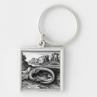 Ouroboros Serpent keychain