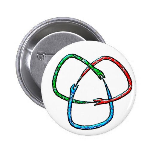 Ouroboros three-way button