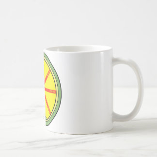 Ouroboros wheel coffee mug