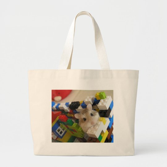 ourpets_hamster large tote bag