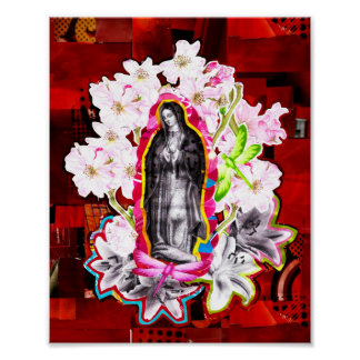 Ours Mrs. of Guadeloupe (Our Lady of Guadeloupe) Poster