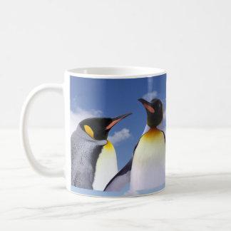 ousamapengin classic white coffee mug