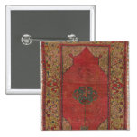 Oushak Rug 2 Inch Square Button