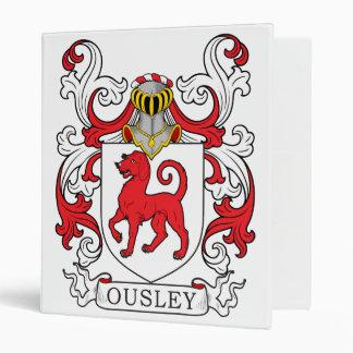 Ousley Family Crest Vinyl Binders
