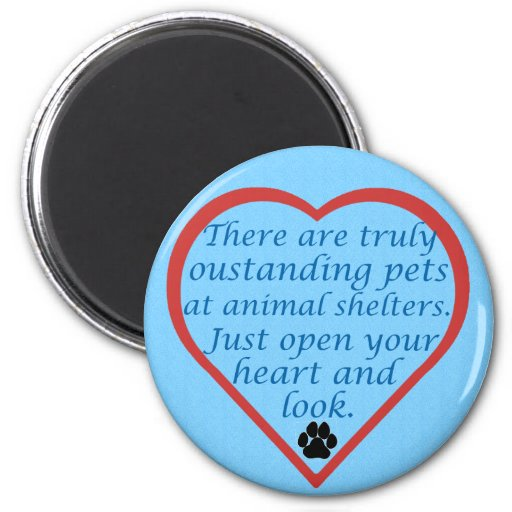 Oustanding Pets 2 Inch Round Magnet