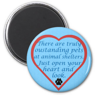 Oustanding Pets Refrigerator Magnets