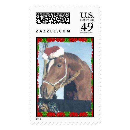 Ouston Xmas Stamp