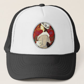 Out about town trucker hat