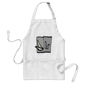 Out Adult Apron