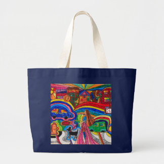 Out and About Large Tote Bag