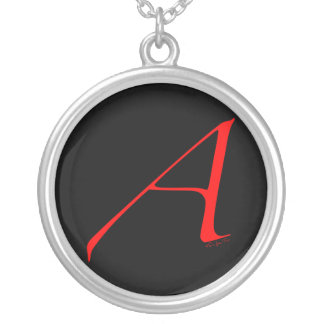 Out and Proud Atheist Round Pendant Necklace