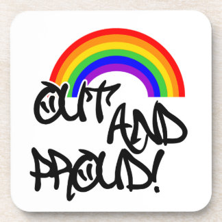 Out and Proud Beverage Coaster