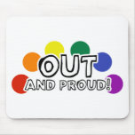 Out And Proud Mouse Mat