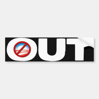 OUT - Anybody but Obama - 2012 Bumper Sticker