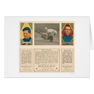 Out At Home White Sox Baseball 1912 Card