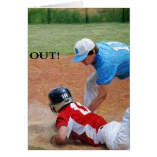 out baseball2 card