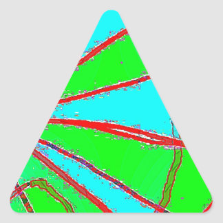 Out Bog B Triangle Sticker