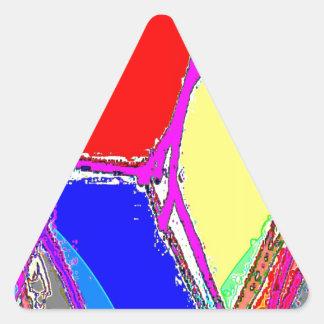 Out Bog C Triangle Sticker