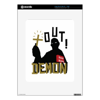Out Demon Decal For The iPad